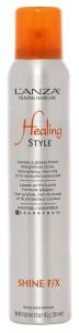 Блеск для волос ультралегкой фиксации LANZA Shine FX