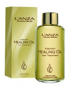 Кератиновый эликсир для волос LANZA Keratin Healing Oil Hair Treatment (100 мл)